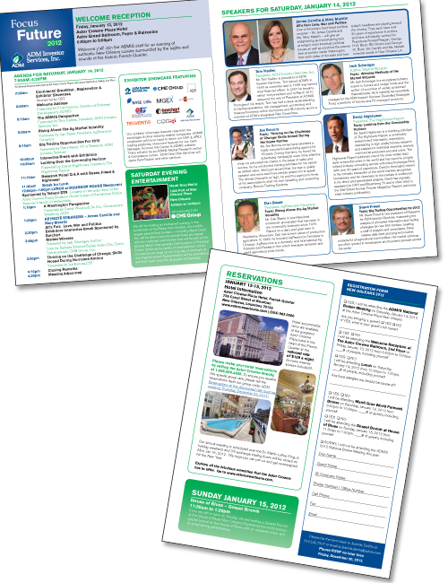 Financial Services Conference Brochure